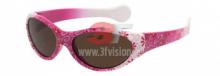 Dětské brýle 3F vision Rubber - 1444 růžovo-bílé