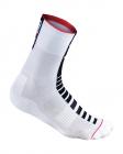 Cysklistické ponožky Kalas RACE PLUS X4 bílé