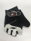 Cyklistické rukavice 3F vision - Gel shock 1530 černo-bílé