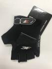 Cyklistické rukavice 3F vision - Gel shock 1530 černé