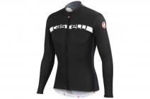 Cyklistický dres Castelli Prologo 4 dlouhý rukáv černo-šedý