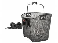 Koš na řidítka Ventura klip 22,2-31,8 mm černý