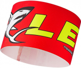 Čelenka Leki Race shark headband red-yellow