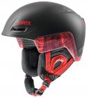 Lyžařská helma Uvex Jimm octo+, černo-červená mat 2018/19