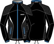 Běžecká bunda KV+ Lahti jacket black/anthracite 9V116-1 2018/19