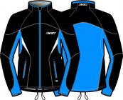 Běžecká bunda KV+ Lahti jacket black/blue 9V116-12 2018/19