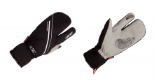 Běžecké rukavice KV+ Glacier pro wind tech gloves  black 8G06-1 2018/19