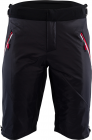 Běžecké kalhoty Silvini Sud krátké black-red MP1303-082 2018/19