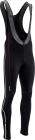Běžecké kalhoty Silvini Movenza Top black-cloud MP1316-081, 2018/19