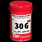 Stoupací vosk na běžecké lyže Rex 30G new snow +1°C až -8°C 45g