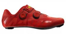 Tretry - boty na silniční kolo Mavic Cosmic pro red/fiery red/black 2019