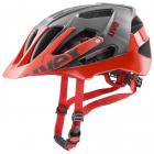 Cyklistická helma Uvex quatro, grey red  2019