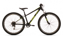 Juniorské jízdní kolo Superior XC Racer 27 GLOSS BLACK/ NEON YELLOW/ DARK GREY 2019