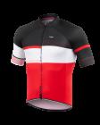 Cyklistický dres Kalas Passion X9 červený 1013-043