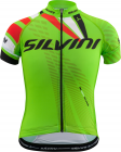 Cyklistický dres Silvini Team CD1435 green-red