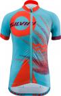 Dětský cyklistický dres Silvini Tanaro CD1433-3560 sky-orange