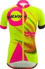 Dětský cyklistický dres Silvini Tanaro neon-pink CD1433-7190
