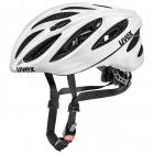 Cyklistická helma Uvex Boss race white 2019