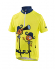 Cyklistický dres Kalas Pirate neon junior 1041-042x
