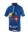 Cyklistický dres Kalas Pirate modrý junior 10412-041x