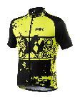 Cyklistický dres Kalas younger neon junior 1041-062x
