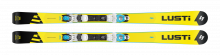 Sjezdové lyže Lusti SC 77 + vázání VIST VSP 310 + deska SPEEDSPACER, 2019/20