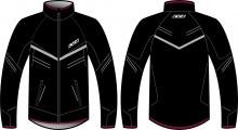 Běžecké bunda KV+ jacket Premium 9V145.1 černá 2019/20