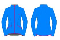 Běžecká bunda dámská KV+ Karina 20V120.2 blue/pink 2019/20