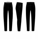 Běžecké kalhoty dámské KV+ Karina 20V121.1 black 2020/21