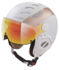 Lyžařská helma Mango Cusna Pro+ bílá/prosseco mat 2019/20