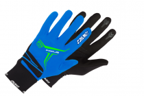 Běžecké rukavice KV+ Focus 9G07.2 Blue/white  2019/20