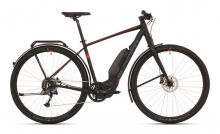 Elektrokolo eRX 630 Touring MATTE BLACK/DARK SILVER/RED 2019