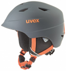 Dětská sjezdová helma UVEX Airwing 2 pro titanium/orange mat 2019/20