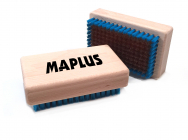 Kartáč na lyže Maplus MTO106 tvrdý měděný kartáč malý