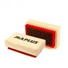Kartáč na lyže Maplus MTO103 měkký měděný kartáč malý