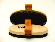 Kartáč na lyže Maplus MTO124 měkký kartáč koňské žíně oválný