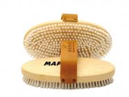 Kartáč na lyže Maplus MTO125 tvrdý nylonový kartáč oválný