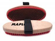 Kartáč na lyže Maplus MTO123 měkký měděný kartáč oválný
