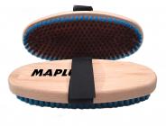 Kartáč na lyže Maplus MTO126 tvrdý měděný kartáč oválný