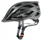 Cyklistická helma Uvex I-VO CC Black smoke 2020