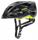 Cyklistická helma Uvex Active CC black-yellow mat 2020