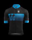 Cyklistický dres Kalas Motion Z 1011-086 černo modrý 2020