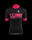 Cyklistický dres dámský Kalas Motion Z 1031-094x černo růžový 2020