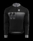 Cyklistický dres dlouhý rukáv Kalas Motion 2032-081x Z černý 2020