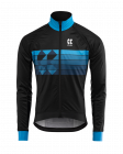 Cyklistická bunda Kalas Motion Z 2042-086x černo modrá 2020