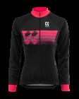 Cyklistický dres dlouhý rukáv Kalas Motion Z 2032-094x černo růžový 2020