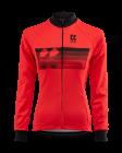 Cyklistický dres dlouhý rukáv Kalas Motion Z 2032-093x červený 2020