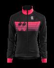 Cyklistická bunda dámská Kalas Motion Z 2042-094x černo růžová 2020