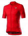 Cyklistický dres Castelli Entrata V fiery red 2020