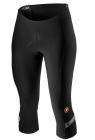 Cyklistické kalhoty dámské 3/4 Castelli Velocissima 2 black white dark gray 2020